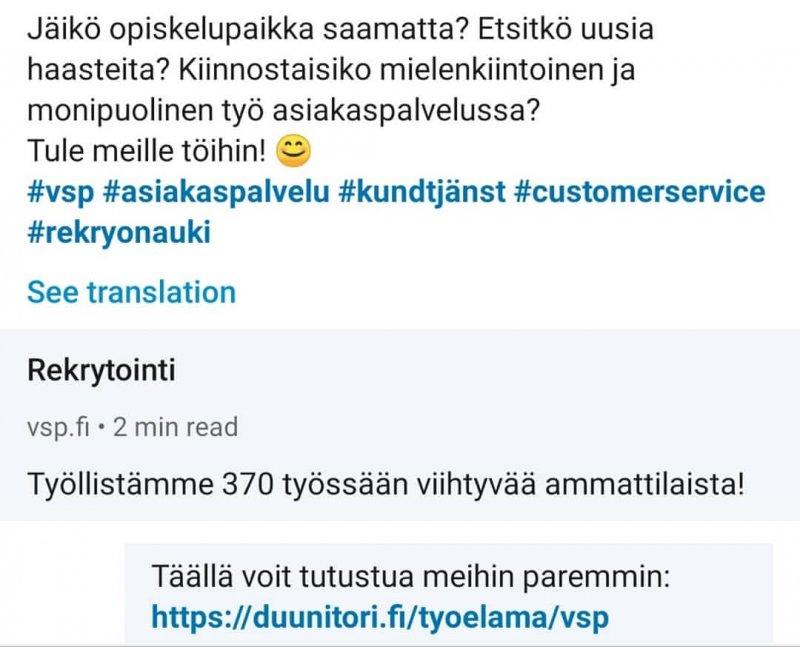 Uusia aurinkoisen asiakaspalvelun ammattilaisia tai sellaiseksi haluavia haussa Turkuun - hae heti! ...