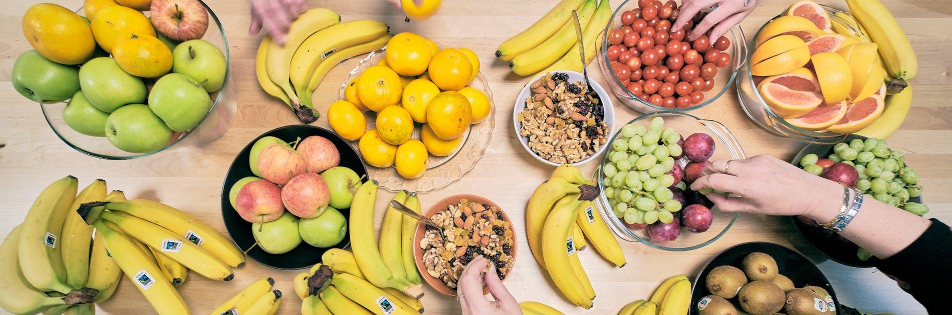 VSP tarjoaa työntekijöilleen perjantaihedelmät.